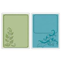 Embossing folders: Elegant Vine & Flair Set
