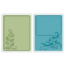 embossing Präge Folder Embossing mapper: Elegant Vine & Flair Set