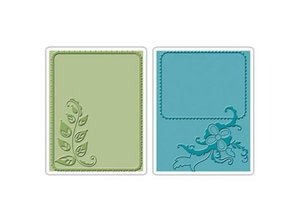embossing Präge Folder Embossing folders: Elegant Vine & Flair Set