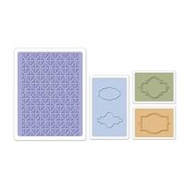 Embossing folders: Jar Labels Set