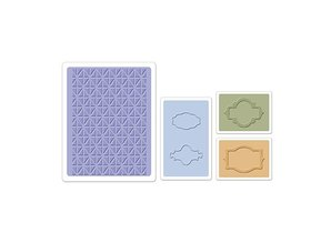 embossing Präge Folder Embossing folders: Jar Labels Set