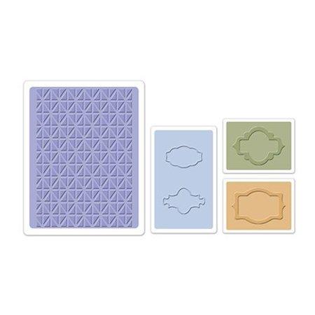 embossing Präge Folder Prägefolder: Jar Labels Set