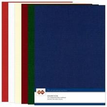 DESIGNER BLÖCKE  / DESIGNER PAPER biancheria A4 cartone, colori di Natale