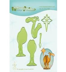 Leane Creatief - Lea'bilities Troquelado y estampado en relieve plantilla: Camel