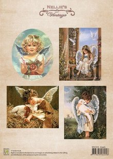 BILDER / PICTURES: Studio Light, Staf Wesenbeek, Willem Haenraets Bilderbogen, jul farve vintage Angels