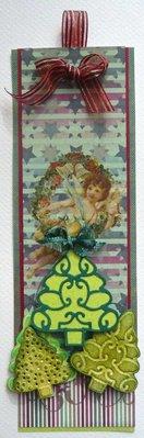 Joy!Crafts und JM Creation Stampaggio e goffratura stencil, 3 alberi di Natale