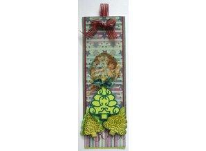 Joy!Crafts und JM Creation Stempling og Prægeskabelon, 3 juletræer