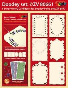 KARTEN und Zubehör / Cards 6 layout di carta di lusso