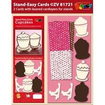 Set 2 Stand-Facile CupCake Cartes