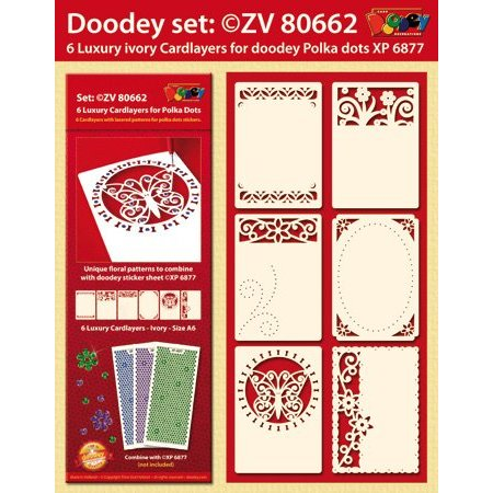 KARTEN und Zubehör / Cards 6 diseños de tarjeta de lujo