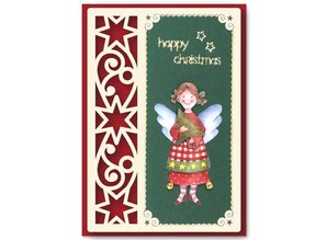 KARTEN und Zubehör / Cards 6 Luxury card layouts with Christmas designs