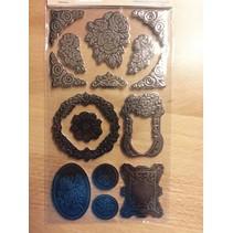 Metallic embossed Cardboard
