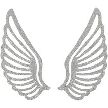 Metal wing, 4 pieces