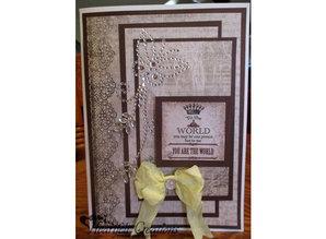 Embellishments / Verzierungen perlas transparentes de cristal auto, con remolino de la mariposa