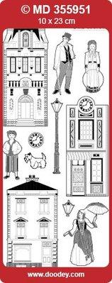 Sticker Ziersticker with victorianische motives