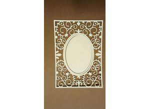 Nellie snellen Punching and embossing template Vintasia with owl