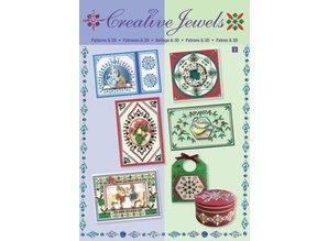Bücher und CD / Magazines Creative Book template Gioielli & 3D