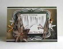 Joy!Crafts und JM Creation plantillas de punzonado y estampado en relieve: marco decorativo con extremos redondeados esquina