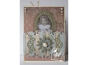 Joy!Crafts und JM Creation Punching and embossing template: Mery's oval