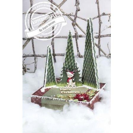 BASTELSETS / CRAFT KITS: Komplettes Bastelset für Weihnachtsdekoration