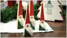 BASTELSETS / CRAFT KITS: Komplet Bastelset til jul dekoration
