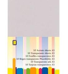 BASTELZUBEHÖR / CRAFT ACCESSORIES foglio di plastica trasparente