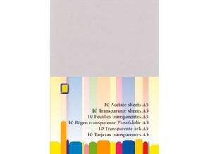 BASTELZUBEHÖR / CRAFT ACCESSORIES Transparent plastic sheet