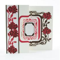 estampación y embutición de carpetas: Flip Flop, Caballete y marco con rosas