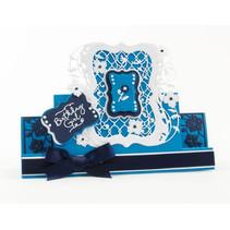 estampación y embutición de carpetas: Flip Flop, Caballete y marco con flores