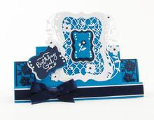 TONIC estampación y embutición de carpetas: Flip Flop, Caballete y marco con flores