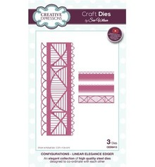 Creative Expressions Stamping and embossing stencil: border