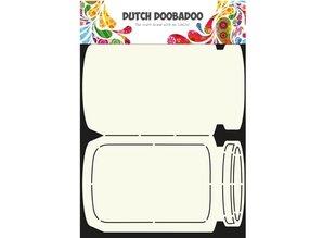 Dutch DooBaDoo A4 skabelon af Hollandsk kunst Card