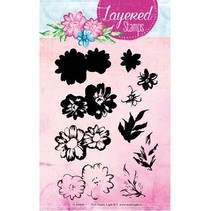 Layered Stempel, A6 Format