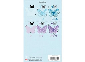 Stempel / Stamp: Transparent Layered stempel, A6-format