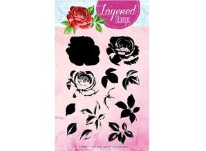 Stempel / Stamp: Transparent Layered stempel, A6-format