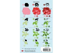 Stempel / Stamp: Transparent Layered stamp, A6 format