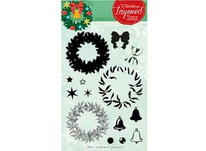Stempel / Stamp: Transparent Layered stempel, A5-format, stor