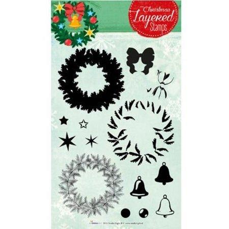 Stempel / Stamp: Transparent Layered stempel, A5-format, stor