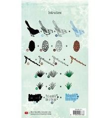 Stempel / Stamp: Transparent Layered stamp, A5 format, large