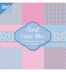 Joy!Crafts und JM Creation Designer Block, 15.5 x 15.5 cm