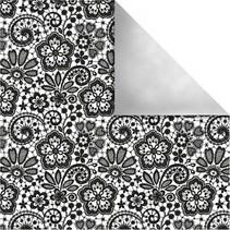 Designpapier Paris, Retro Blumen
