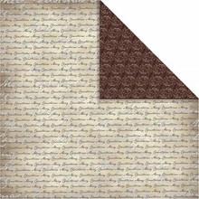 Designer Papier Scrapbooking: 30,5 x 30,5 cm Papier Design paper Oslo, Scripture