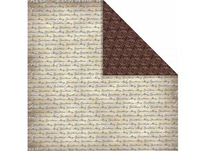 Designer Papier Scrapbooking: 30,5 x 30,5 cm Papier Designpapier Oslo, Schrift