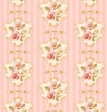 DESIGNER BLÖCKE  / DESIGNER PAPER Rosas del vintage Designerpapierset