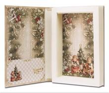 BASTELSETS / CRAFT KITS: 2 Gift Books with MI Hummel, format 16 x 24 x 4 cm
