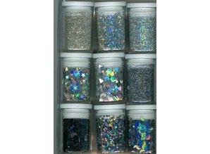 BASTELZUBEHÖR / CRAFT ACCESSORIES Glitter Set