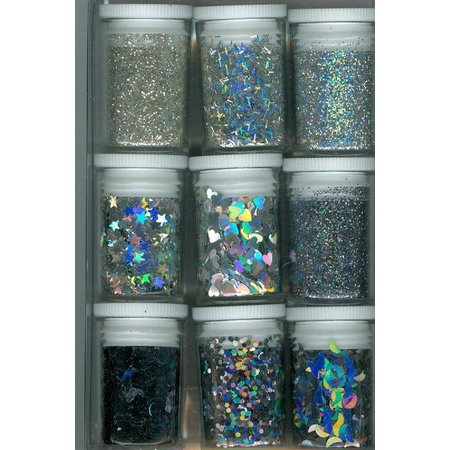 BASTELZUBEHÖR / CRAFT ACCESSORIES Glitter Set