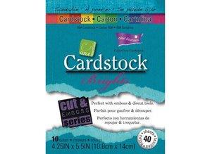 DESIGNER BLÖCKE  / DESIGNER PAPER Cardstock Brights Set