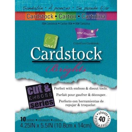 DESIGNER BLÖCKE  / DESIGNER PAPER Conjunto de papel de tarjetas Bright