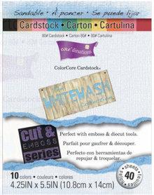 DESIGNER BLÖCKE  / DESIGNER PAPER ColorCore karton sæt renvaske